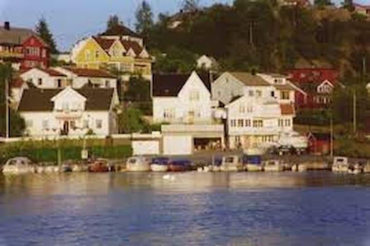 Villa ved sjøen