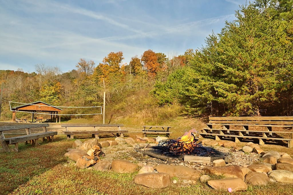 Wildwood Falls (#4)-Resort Fire Pit