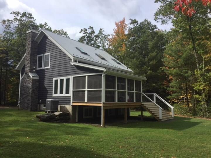 Modern Catskills Barn Retreat