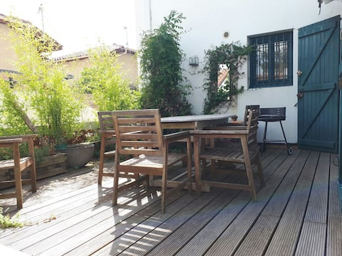 Charmant T2 Bis Capbreton avec terrasse