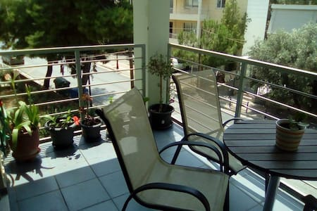 Two bedroom aprtm/easy access city center, airport - Agia Paraskevi