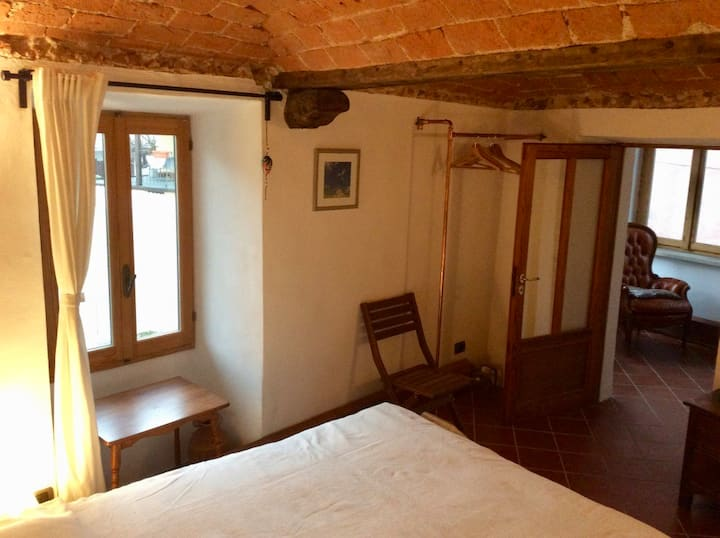 Camera Camino - room with veranda