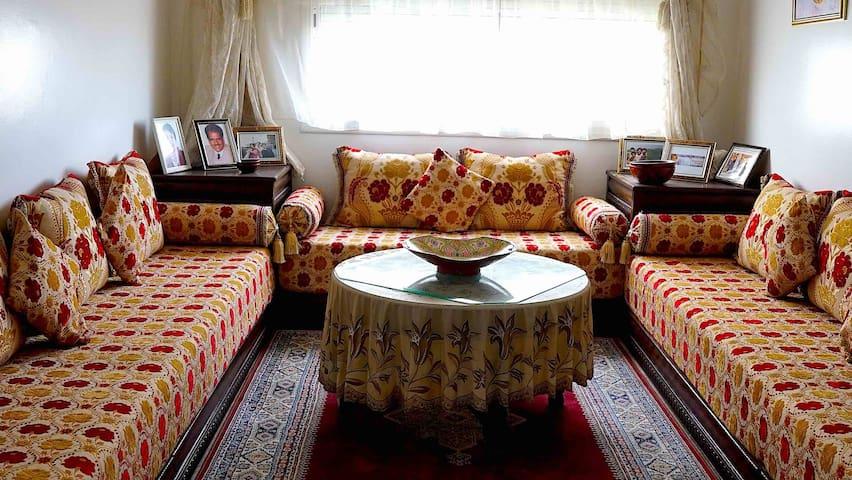 Très joli appart meublé au quartier Hassan. Rabat. - Rabat - Appartement