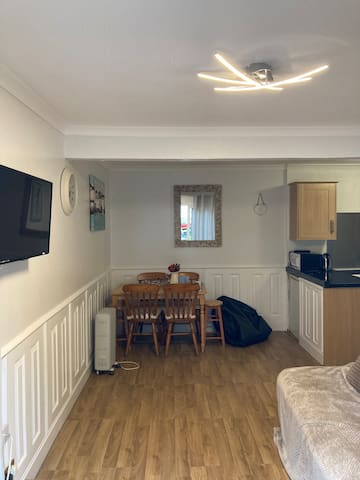 Wildview chalet at Medmerry park, West Sussex