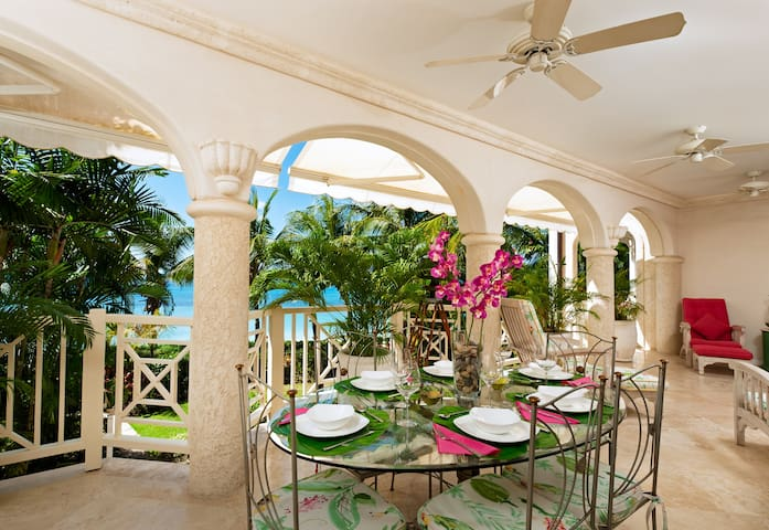 The Beach Side Dining Terrace