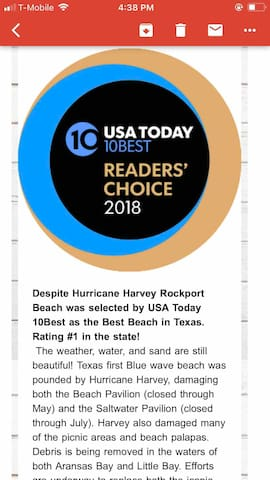 2018 voted Best Beach !