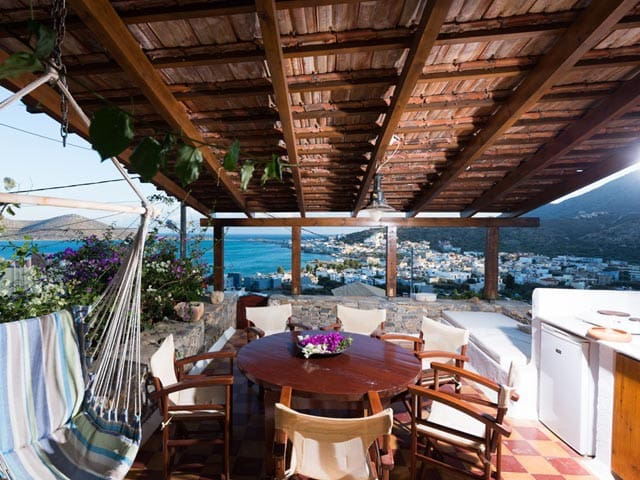 Elounda Traditional Stone House Sea View(Arg) 5pax - Lasithi - House