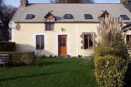 Spacious Breton Longere - Plumieux - Ház