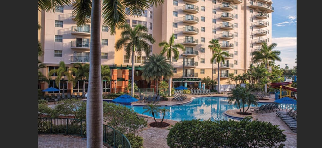 Wyndham palm-Aire Fort Lauderdale 1 BR Mar 3-9