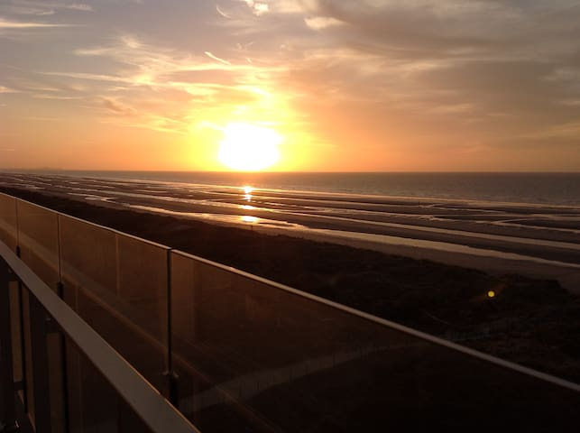 Relaxing 4p appt with stunning view ! - De Panne - Apartment