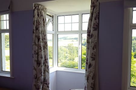 Dartmoor room with view and private bathroom - Devon - Rumah