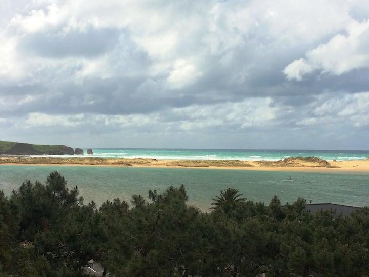Frente al mar Apartamento con Preciosas Vistas