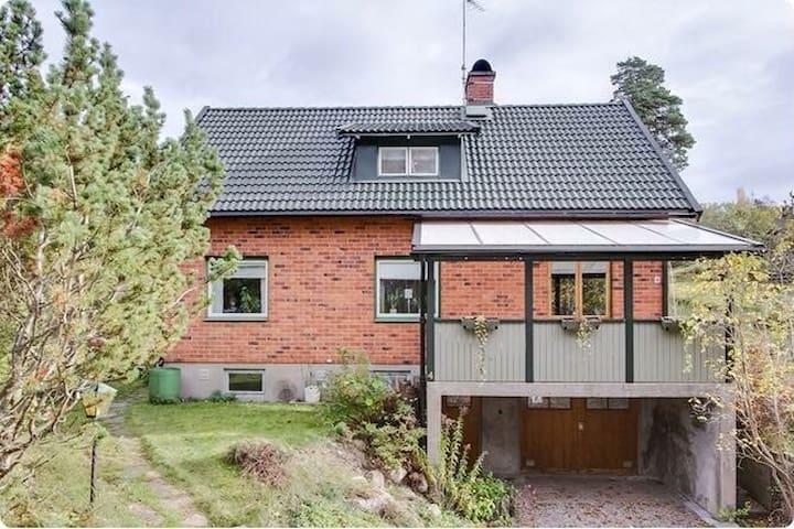Mysigt rum i 50-talshus - Björneborg  - Haus