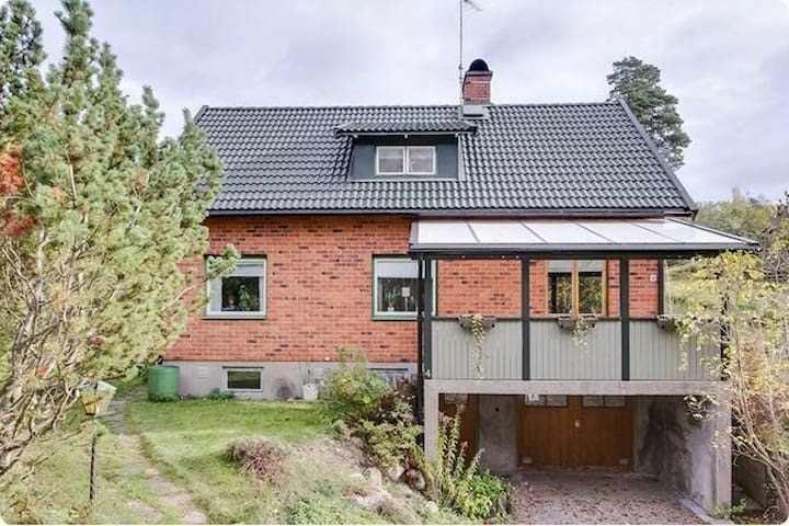 Mysigt rum i 50-talshus - Björneborg  - Hus