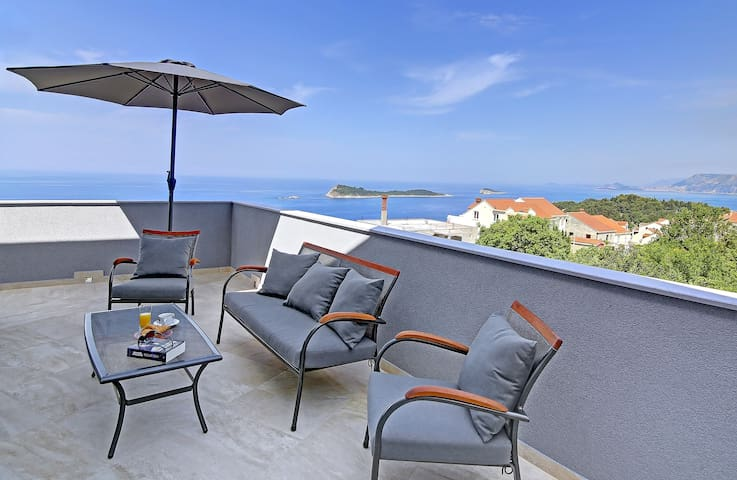 Villa Sandra, luxury penthouse apartment - Cavtat - Appartement