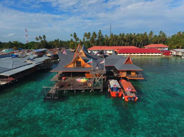 Mabul Paradise Lodge, Mabul Island Seaview room A