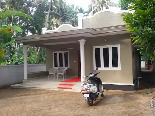 A 3 bedroom villa in Kodungallur, Thrissur, Kerala