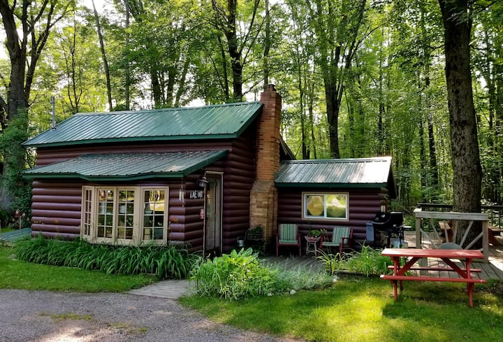 Clean, 3BR CABIN, dog friendly, close to town