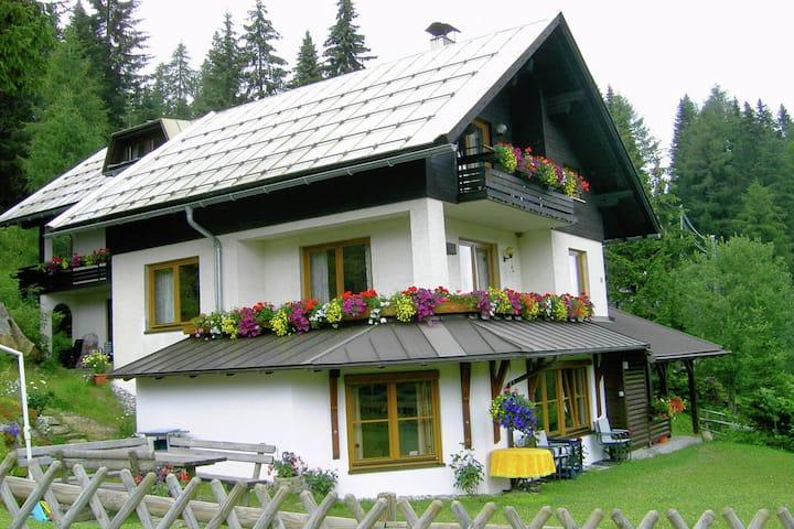 Pretty Apartment with Sauna, Ski Storage, Parking, Balcony