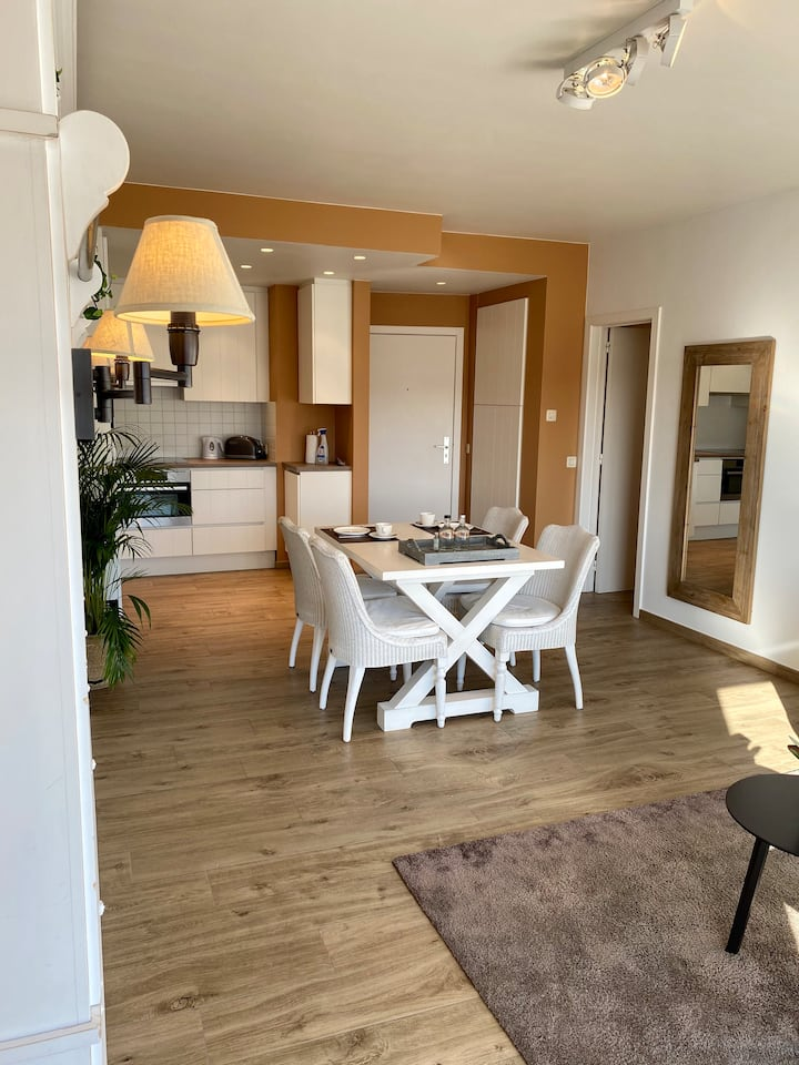 Gezellig appartement op topligging in Knokke