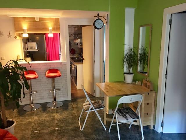 Habitaci n en piso actual en el centro de zaragoza for Pisos 1 habitacion zaragoza