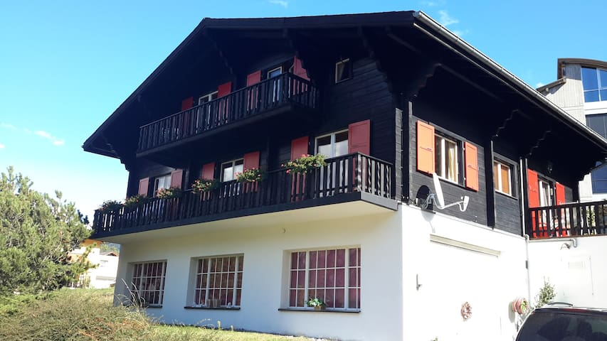 4 Pers Appartment in a Swiss Chalet - Ried-Brig