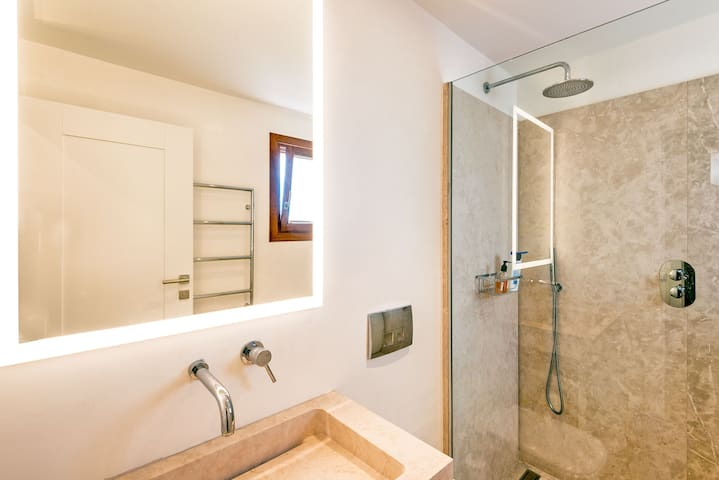 Bedroom 2 Bathroom across the corridor