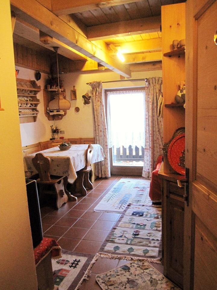 Appartamento mansardato centro La Villa Val Badia