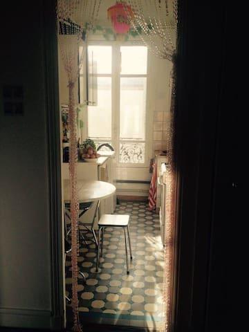 Chambre dans un bel appartement à Pantin - Pantin - Byt