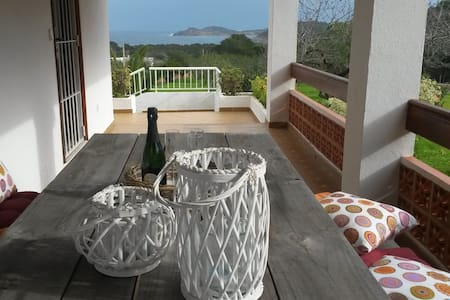Casa with beautiful views, charming and quiet! - Santa Eulària des Riu