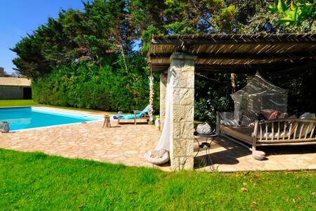 Il Portico Verde Villa in south Corfu - Lefkimmi - Casa de camp