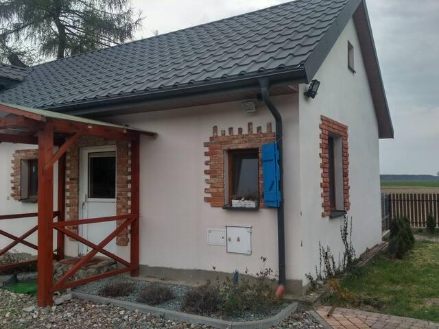 Wakacyjny domek przy lesie