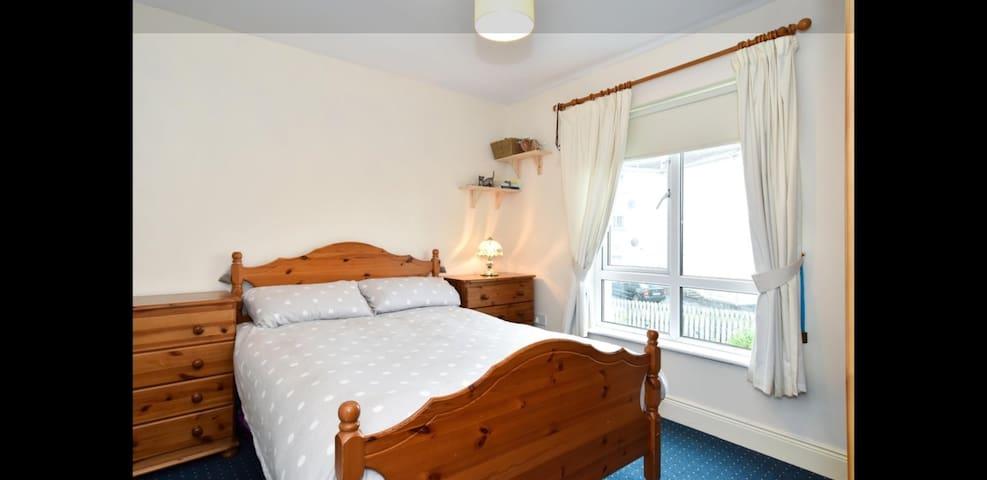 Spacious double room with en suite in Galway.