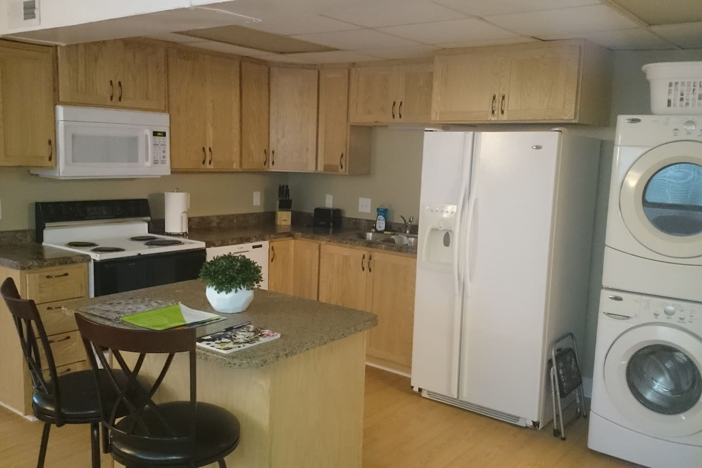Custom kitchen cabinets with this eat in kitchen
