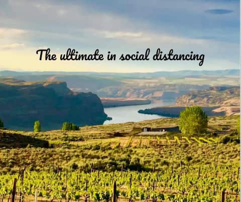 The Ultimate in Social Distancing at the Gorge 1