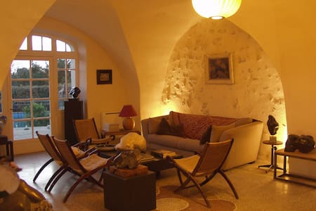 Chambre dans mas du 17e siècle - Mouriès
