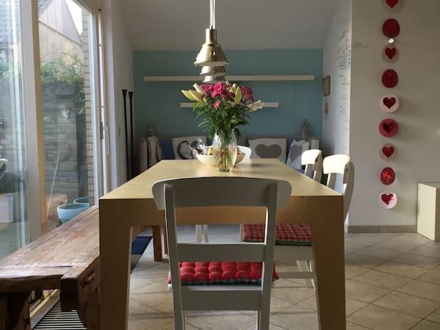 Nice Familyhouse 300m from Beach - Noordwijk - Hus