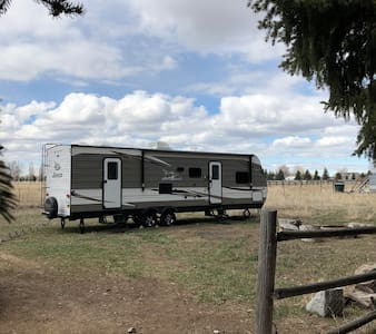 The Harrison's Luxury Idaho Camper