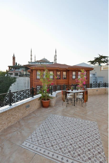 Two Bedroom APartment with Private Terrace