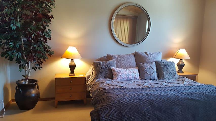 Master Bedroom luxury!