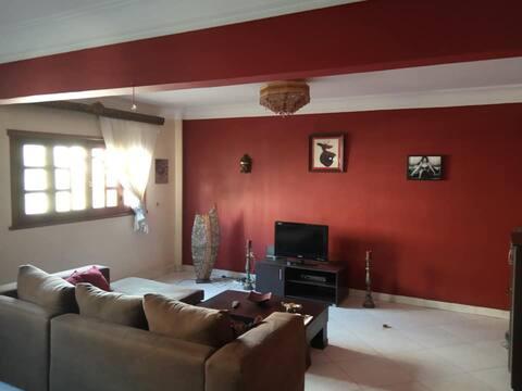 Central Cairo Home Comfortable/Modern/Convenient