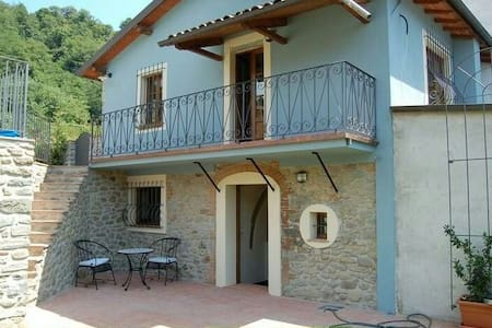 Holiday home in Tuscany hills - Mologno, Province of Lucca, Italy - House