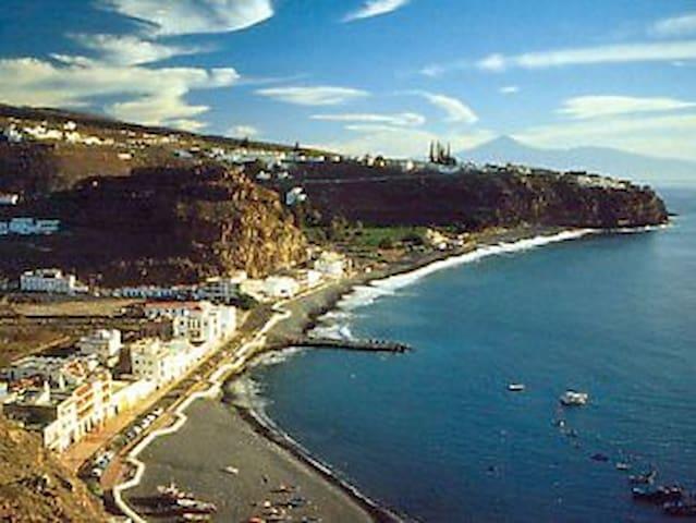 Apartamento de playa en el sur de La Gomera. - Playa de Santiago - Daire