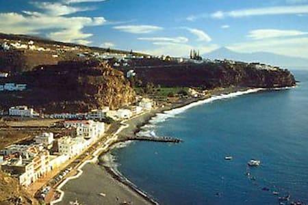 Apartamento de playa en el sur de La Gomera. - Playa de Santiago - Appartement