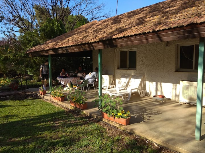 Ron's  place in Yesod Hamaala in Hula Valley