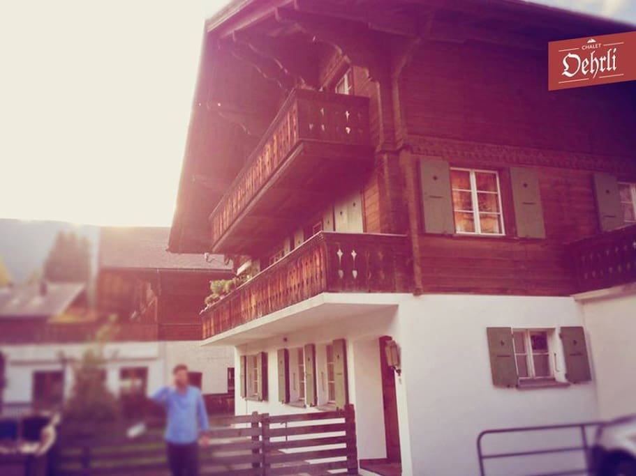 Chalet Oehrli Apartment on the ground floor with parking.