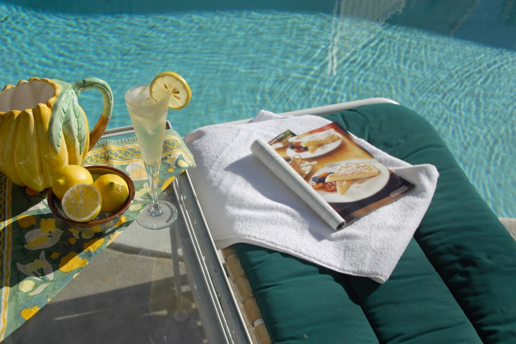 Take advantage of the seasonal pool in warm weather.
