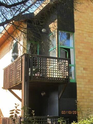 Appartement vue de l'extérieur