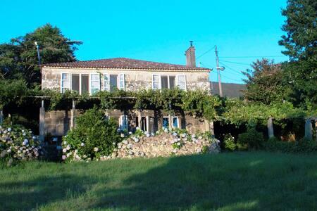 Espectacular casa cerca de la playa - A Pedra do Lobo - บ้าน