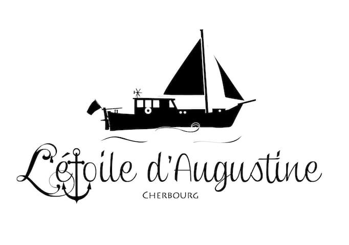 L'étoile d'Augustine : A Grec boat in Normandie